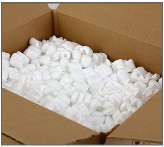 Packing Peanuts for Sale at Leader Box Corp.