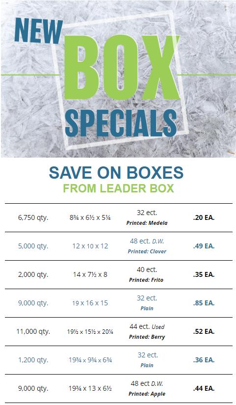 Leader Box 2020 Box Specials