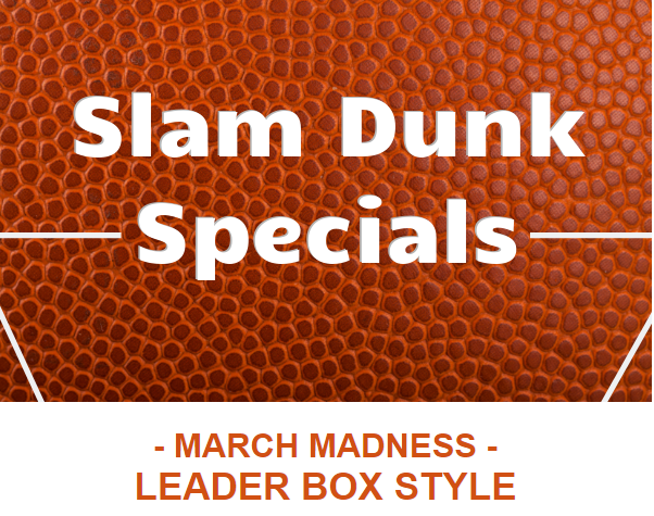 March Madness - leader box